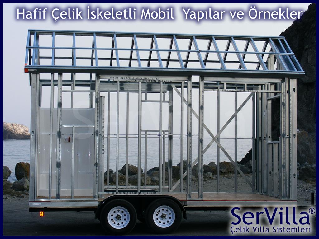 Hafif Çelik Konteyner Karavan Sistemleri